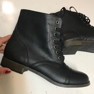 New Rampage Combat Boots Size 9